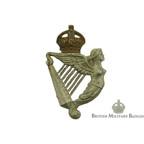 8th Royal Irish Hussars Regiment Collar Badge