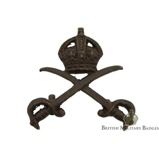 Army Physical Training Corps APTC OFFICERS Bronze Collar Badge