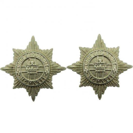 4th/7th Royal Dragoon Guards 4th / 7th Royal Dragoon Guards Regiment 4th/7th Collar Badge PAIR