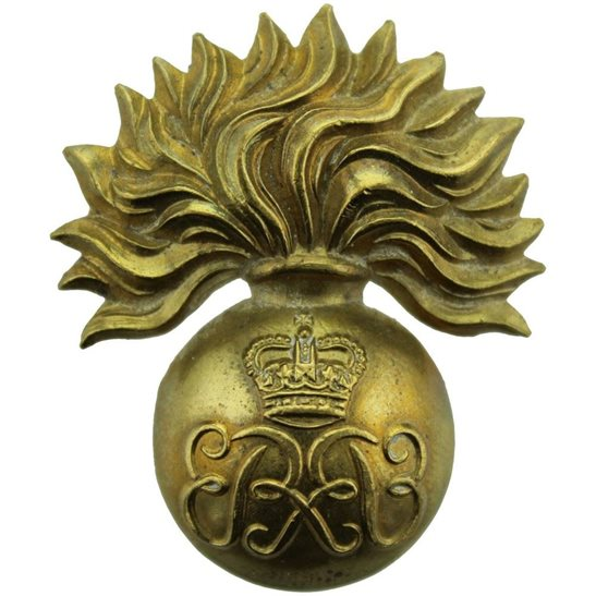 Grenadier Guards Grenadier Guards Regiment Sergeants / Senior NCOs Cap Badge - Queens Crown