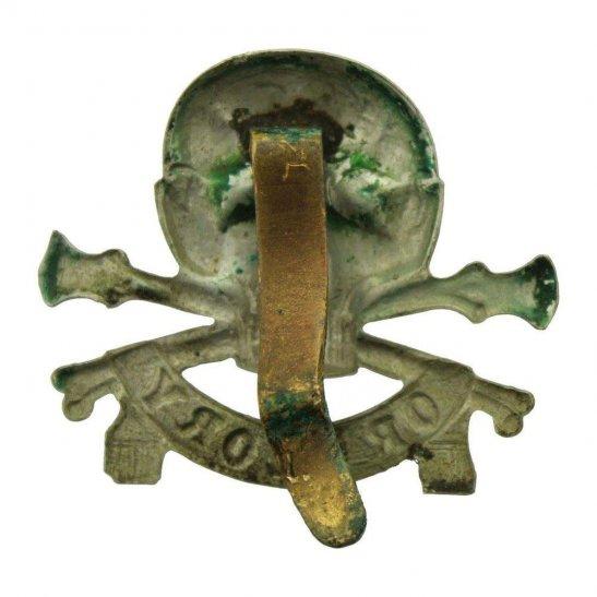 additional image for WW1 17th / 21st Lancers (Deaths Head) Regiment Cap Badge