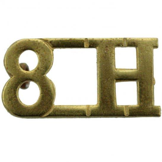 8th Hussars 8th Kings Royal Irish Hussars Regiment Shoulder Title