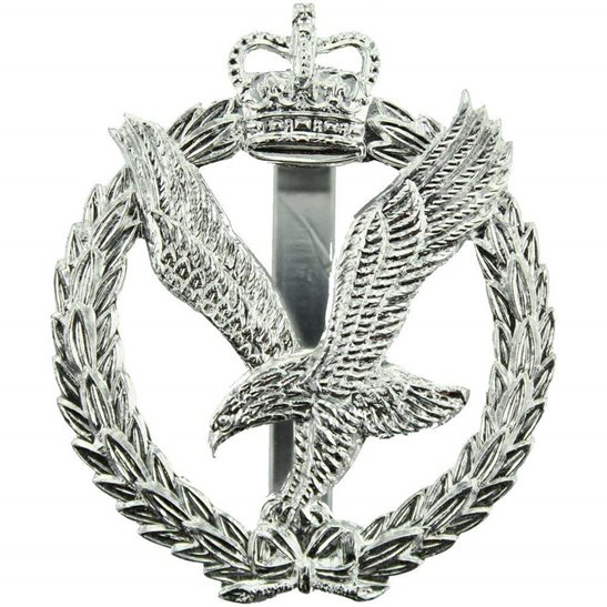 Army Air Corps AAC Staybrite Anodised Cap Badge - Staybright