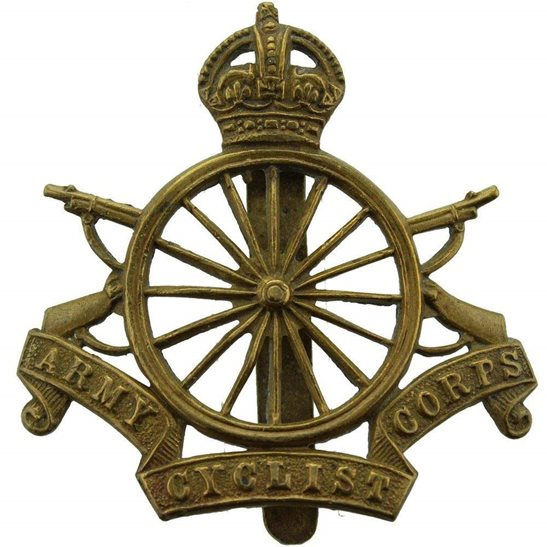 Army Cyclist Corps WW1 Army Cyclist Corps (Cyclists) Cap Badge