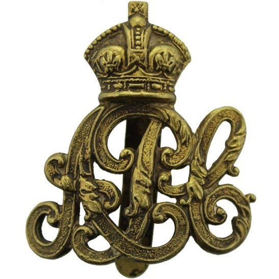 Army Pay Corps APC WW1 Army Pay Corps APC Cap Badge