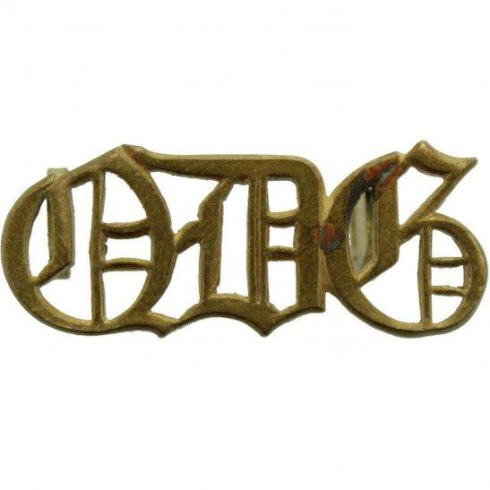 1st Queens Dragoon Guards 1st The Queens Dragoon Guards Regiment Queen's QDG Shoulder Title