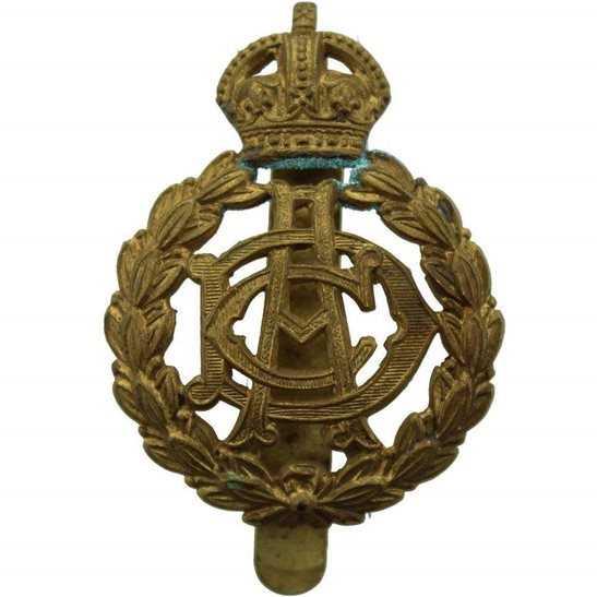Army Dental Corps WW1 Army Dental Corps ADC Dentist Cap Badge
