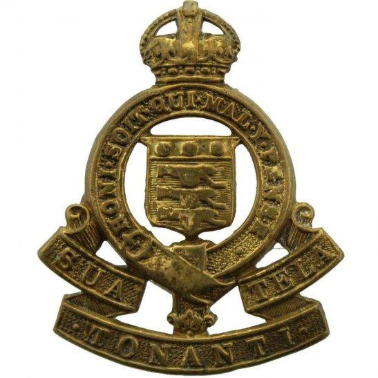 Royal Army Ordnance Corps RAOC Cap Badge - 1947 Motto Version