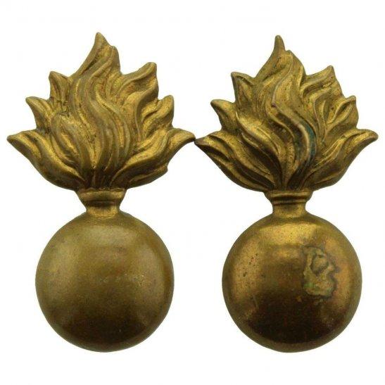 Generic Fusiliers Regiment Shoulder Title Part PAIR