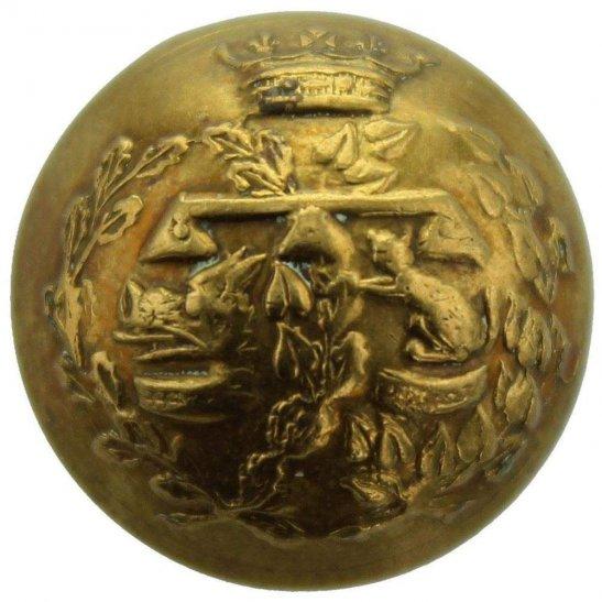 Argyll and Sutherland Highlanders WW1 Argyll and Sutherland Highlanders Scottish Regiment SMALL Tunic Button - 19mm