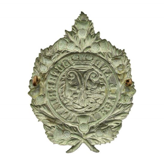 additional image for EARLY PATTERN Argyll and Sutherland Highlanders Regiment NON-VOIDED Cap Badge