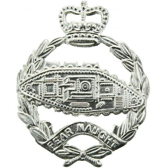 Royal Tank Regiment Staybrite Anodised Cap Badge - Staybright