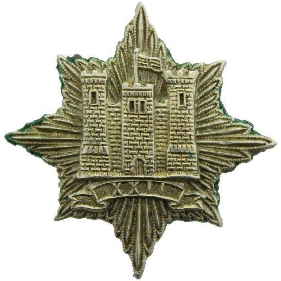 22nd Dragoons WW2 WAR RAISED 22nd Dragoons Regiment Collar Badge