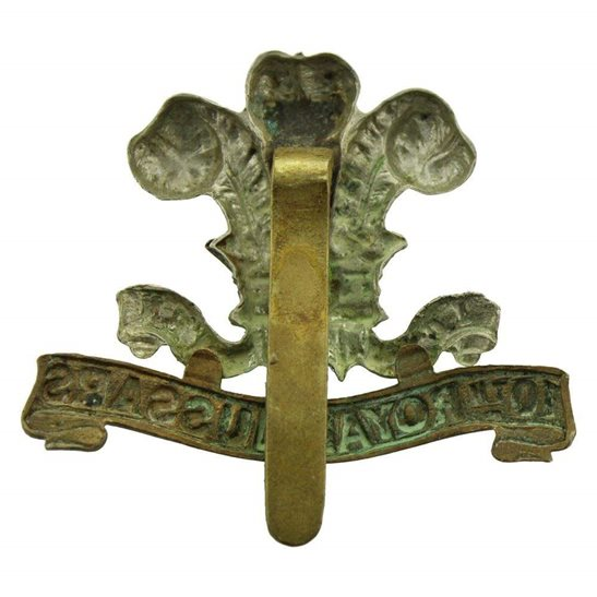 additional image for WW1 10th Royal Hussars Regiment Cap Badge
