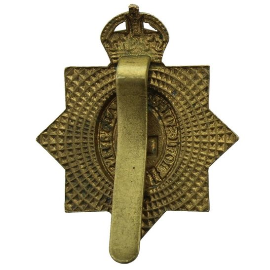 additional image for WW1 1st Kings Dragoon Guards Regiment KDG (King's) ALL BRASS Cap Badge - Economy Issue