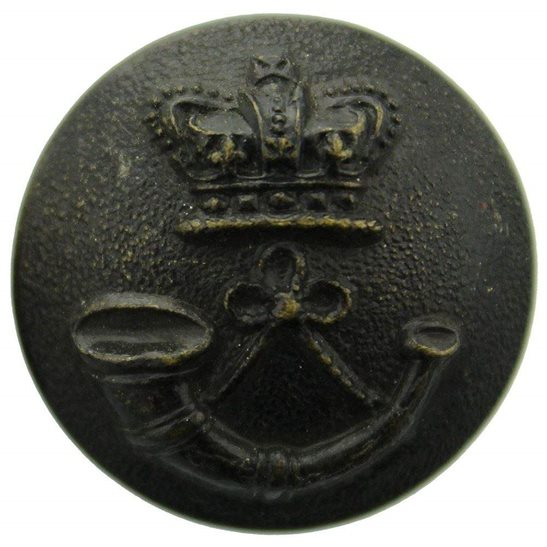 Durham Light Infantry DLI Victorian Durham Light Infantry DLI Regiment Tunic Button QVC - 24mm