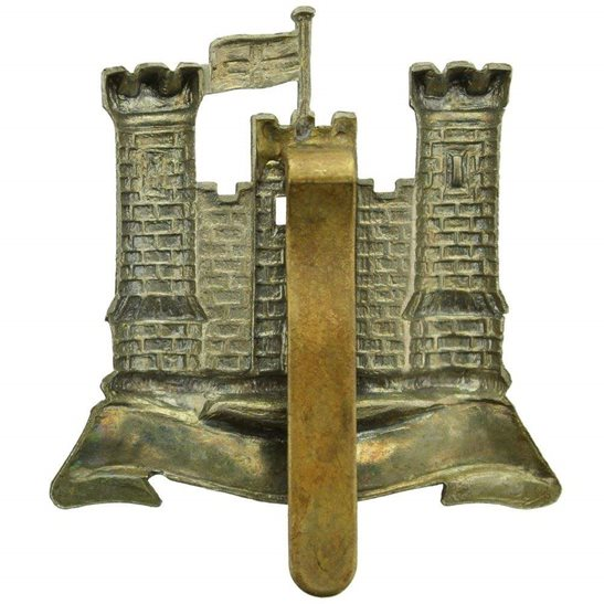 additional image for WW1 6th Inniskilling Dragoons Irish Regiment Cap Badge