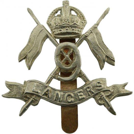 9th Queens Royal Lancers 9th Queens Royal Lancers Regiment Cap Badge