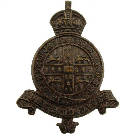 Officer Training Corps OTC Cambridge University Officers Training Corps College OTC Cap Badge