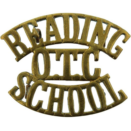 Officer Training Corps OTC Reading School College OTC Officers Training Corps Shoulder Title