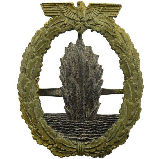 WW2 German Army WW2 German Minesweepers Combat Badge