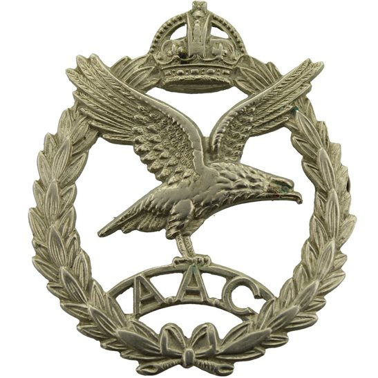 Army Air Corps AAC WW2 Army Air Corps AAC Cap Badge