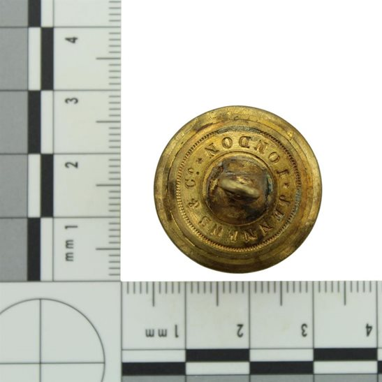 additional image for VICTORIAN 11th Regiment of Foot (North Devon) 1855-1881 OFFICERS Tunic Button - 25mm