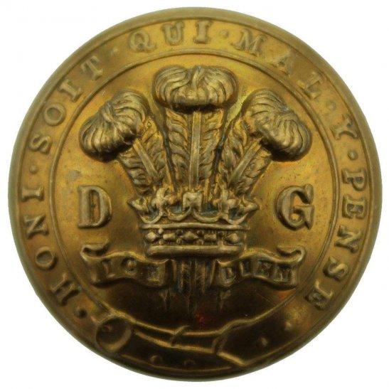 3rd Dragoon Guards WW1 3rd Dragoon Guards Regiment Tunic Button - 26mm