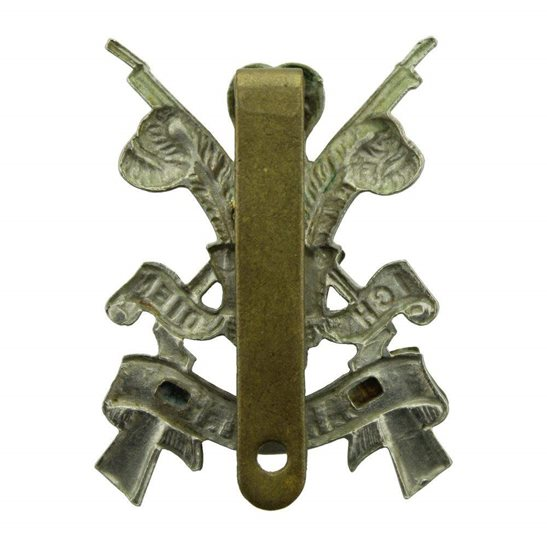 additional image for WW2 3rd Carabiniers (Prince of Wales's Dragoon Guards) Regiment Cap Badge