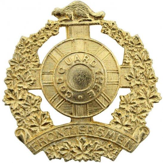 Legion of Frontiersmen Canadian Legion of Frontiersmen Regiment Staybrite Anodised Cap Badge - Staybright