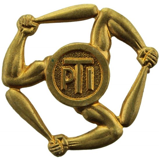 Royal Army Phyical Training Corps RAPTC WW2 Physical Training Instructor PTI Proficiency Arm / Sleeve Trade Badge