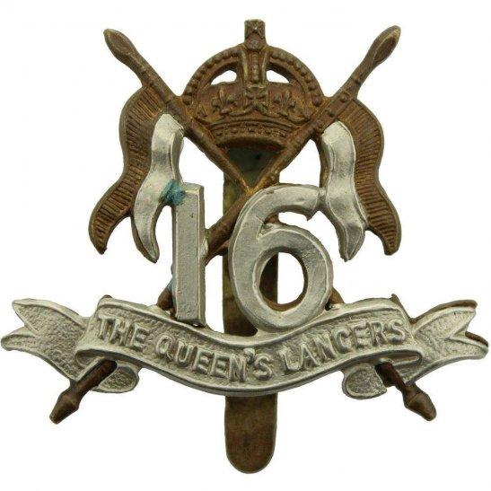 16th Lancers WW1 16th (The Queens Lancers) Regiment Cap Badge