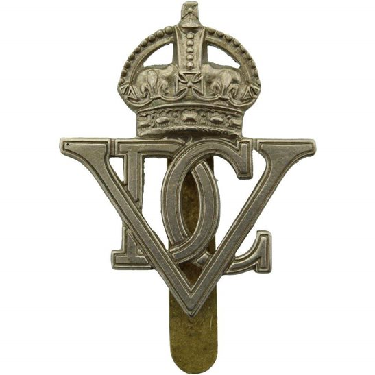 5th Dragoon Guards WW2 5th Royal Inniskilling Dragoon Guards Regiment Irish Cap Badge J.R. GAUNT LONDON