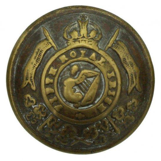 5th Royal Irish Lancers WW1 5th Royal Irish Lancers Regiment Tunic Button - 23mm
