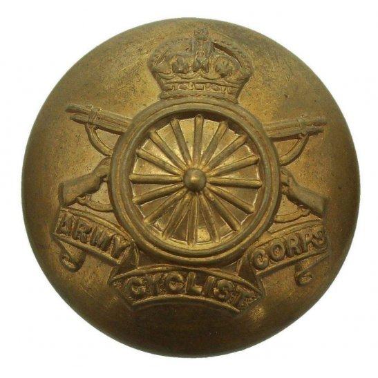 Army Cyclist Corps WW1 Army Cyclist Corps Cyclists Regiment Tunic Button - 26mm