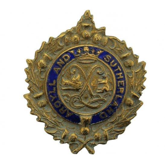 Argyll and Sutherland Highlanders WW1 Argyll and Sutherland Highlanders Regiment Scottish Sweetheart Brooch