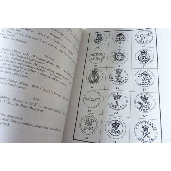 additional image for English Infantry Militia Tunic Buttons 1757-1881 Reference Guide Book