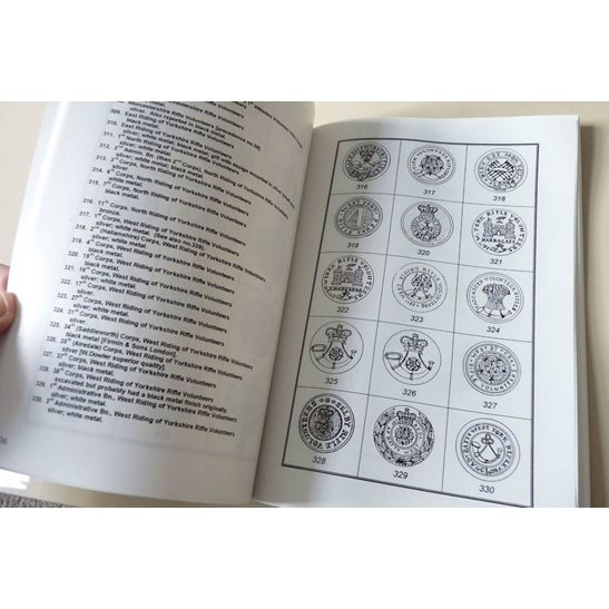additional image for British Rifle Volunteer Unit Tunic Buttons 1859-1908 Reference Guide Book