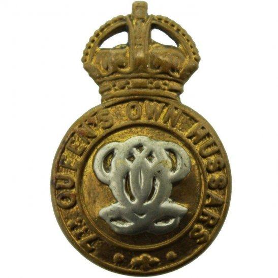 7th Hussars 7th Queens Own Hussars Regiment (Queen's) Collar Badge