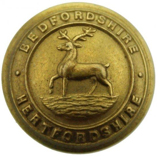 Bedfordshire and Hertfordshire WW2 Bedfordshire and Hertfordshire Regiment SMALL Tunic Button - 19mm
