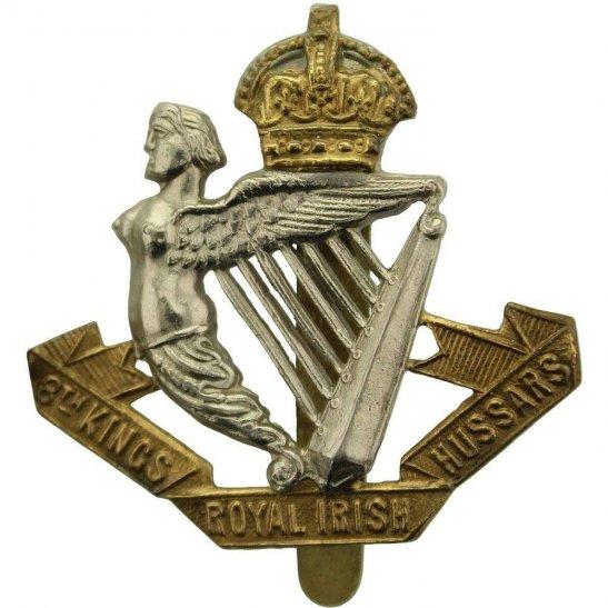 8th Hussars WW1 8th Kings Royal Irish Hussars Regiment (King's) Cap Badge