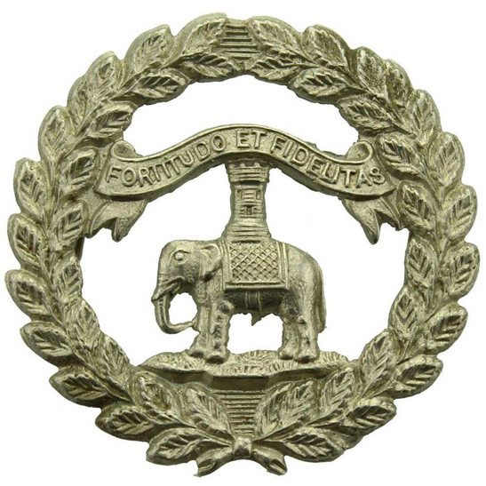 Argyll and Sutherland Highlanders 1st Dumbartonshire Volunteer Battalion Argyll and Sutherland Highlanders Scottish Regiment Collar Badge