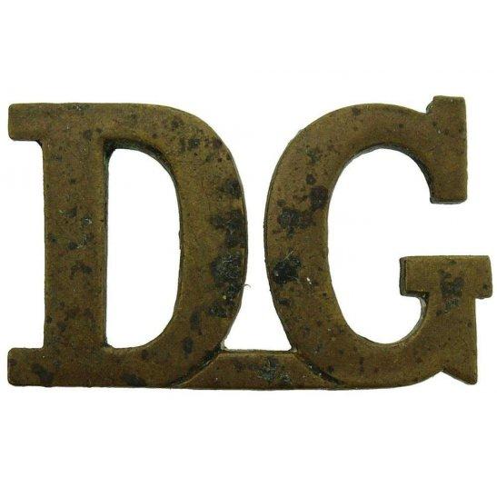 1st Kings Dragoon Guards 1st Kings Dragoon Guards Regiment DG (King's) Shoulder Title