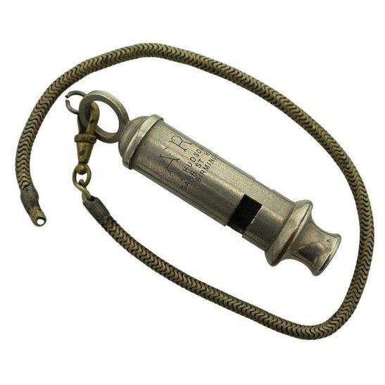 Air Raid Precautions ARP WW2 Air Raid Precautions Warden ARP Whistle - J. HUDSON & Co