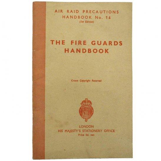 Air Raid Precautions ARP WW2 Air Raid Precautions ARP Fire Guards Handbook Booklet Document