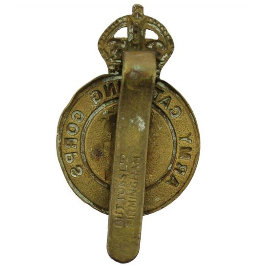 additional image for WW2 Army Catering Corps ACC Cap Badge - BUTTONS LTD BIRMINGHAM