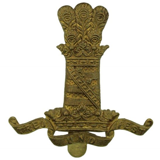 11th Hussars WW1 11th Hussars (Prince Albert's Own) Regiment Cap Badge