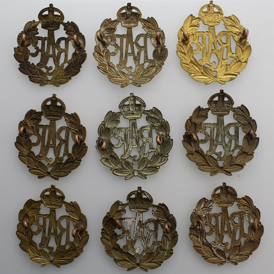 additional image for 1x Original WW2 Royal Air Force RAF Cap Badges - CHOOSE YOUR QUANTITY
