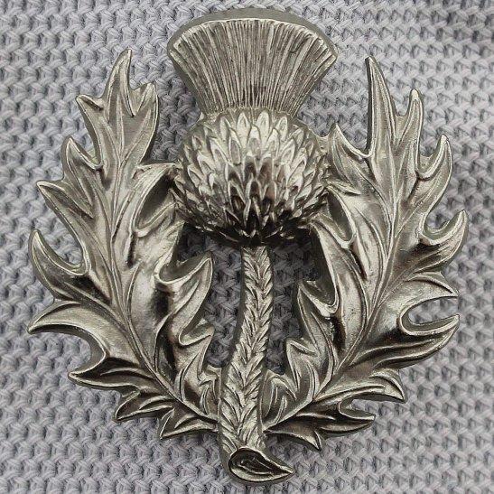 Scots Guards Scots Guards Regiment (Scottish) Collar Badge