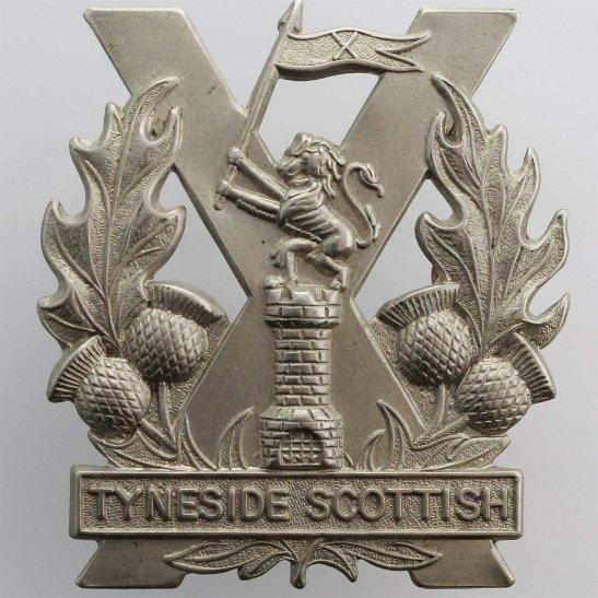 Tyneside Scottish WW1 Tyneside Scottish Regiment Cap Badge